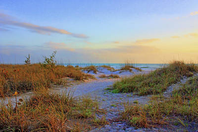 Photograph - Down To The Shore by HH Photography of Florida
