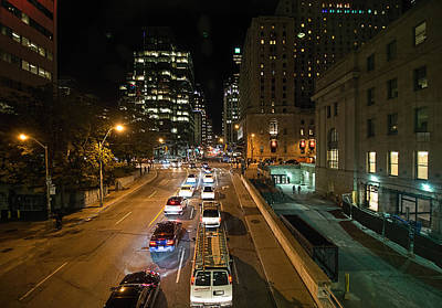 Photograph - Down Town Toronto At Night by John Black