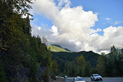 Photograph - Downhill Road by Tom Cochran
