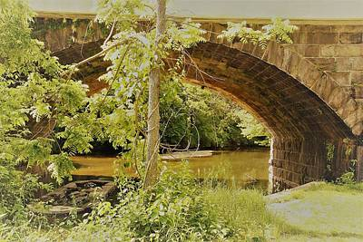 Photograph - Downingtown, Pa. Bridge by Gerald Salamone