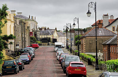 Photograph - Downpatrick In Down County Ireland Street Scene by Vizual Studio