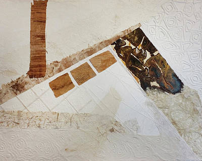 Painting - Downright Scrappy 1 by Cecilia Swatton