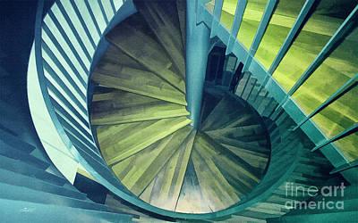 Photograph - Downstairs by Jutta Maria Pusl