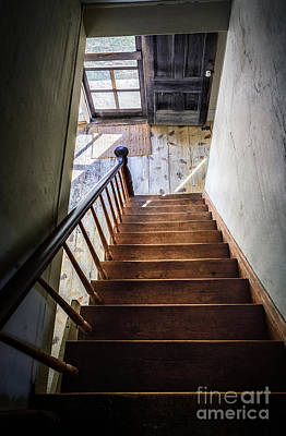 Downstairs Art Print by Scott Thorp