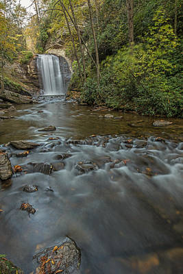 Photograph - Downstream From Looking Glass Falls  by Willie Harper