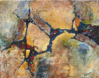 Painting - Downstream by Kathie Selinger