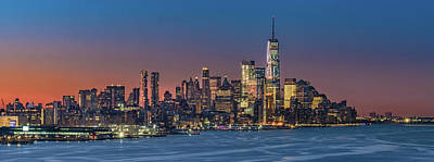 Photograph - Downtown And Freedom Tower by Francisco Gomez