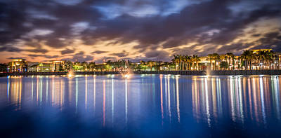 Photograph - Downtown At The Gardens by Mike Sperduto