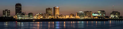 Photograph - Downtown Baton Rouge At Dawn by Andy Crawford