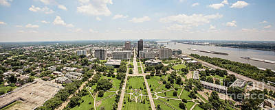 Downtown Baton Rouge Art Print