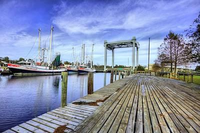 Mobile Al Photograph - Downtown Bayou La Batre by JC Findley