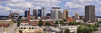 Downtown Birmingham Skyline Art Print by Jeremy Woodhouse