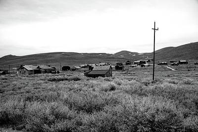 Photograph - Downtown Bodie by Michael Courtney