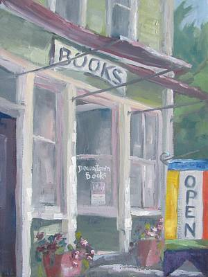 Downtown Books Four Art Print by Susan Richardson
