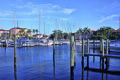 Photograph - Downtown Bradenton Waterfront by HH Photography of Florida