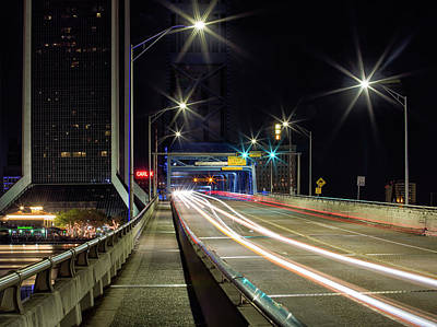 Photograph - Downtown Bridge Run by Art Cole
