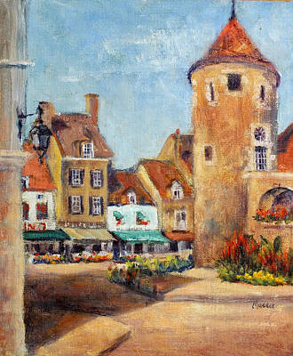 Painting - Downtown Buxy by Jill Musser