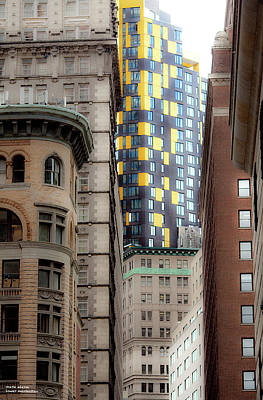 Photograph - Downtown Canyons by Mark Alesse
