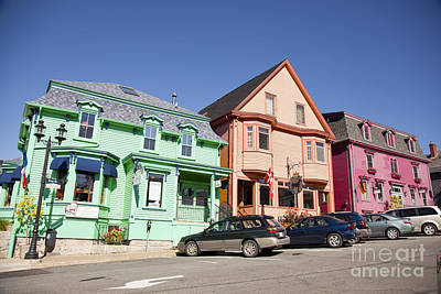 Photograph - downtown Chester, nova scotia by Nick Jene