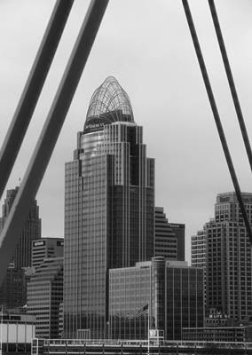 Photograph - Downtown Cinci by Dan Sproul