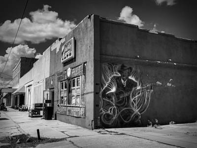 Guitar Photograph - Downtown Clarksdale 002 by Lance Vaughn