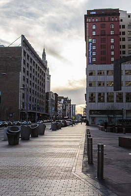 Photograph - Downtown Cleveland  by John McGraw