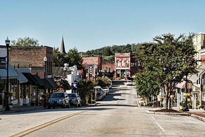 Photograph - Downtown Clinton Tennessee by Sharon Popek