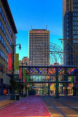 Downtown Color Art Print by Don Nieman