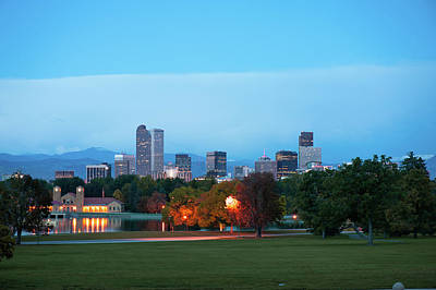 Photograph - Downtown Denver - Skyline Cityscape by Gregory Ballos