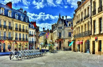 Photograph - Downtown Dijon by Mel Steinhauer