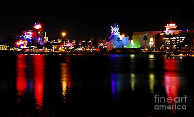 Photograph - Downtown Disney  by David Lee Thompson