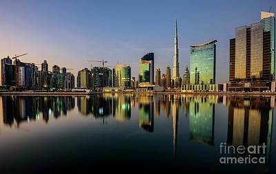 Downtown Dubai Reflexion  Original