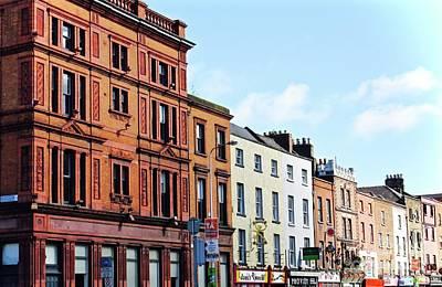 Downtown Dublin Art Print