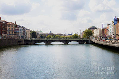 Photograph - Downtown Dublin - Ireland by Doc Braham