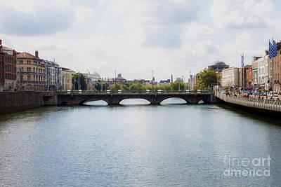 Photograph - Downtown Dublin - Ireland by Doc Braham