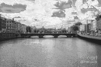 Photograph - Downtown - Dublin by Doc Braham