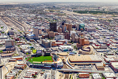 Photograph - Downtown El Paso by Steven Green