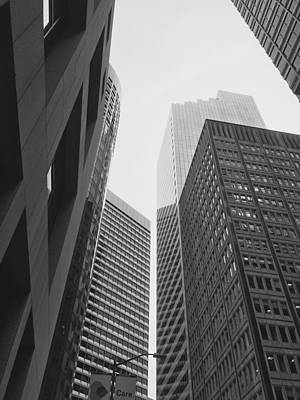 Photograph - Downtown Empathy - Limited Run by Lars B Amble