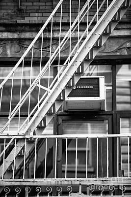 Photograph - Downtown Escape Mono by John Rizzuto