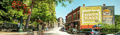 Photograph - Downtown Eureka Springs Arkansas Panorama by Gregory Ballos