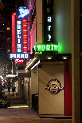Photograph - Downtown Fort Worth 030918 by Rospotte Photography