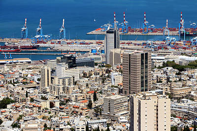 Photograph - Downtown Haifa by Munir Alawi