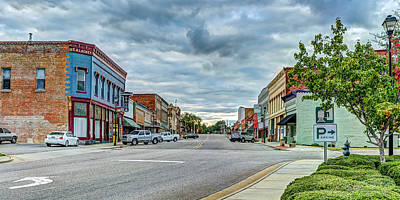 Photograph - Downtown Hamlet by Mike Covington