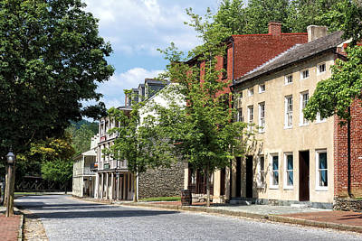 Armory Square Photograph - Downtown Harpers Ferry 4 by John Trommer