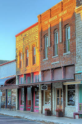 Photograph - Downtown Hico by JC Findley