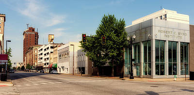 Photograph - Downtown Huntington West Virginia by L O C