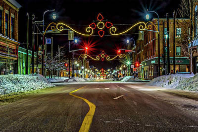 Photograph - Downtown In Winter by Irwin Seidman
