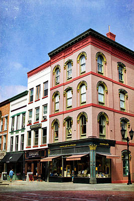 Rollos Photograph - Downtown Ithaca Architecture  by Christina Rollo