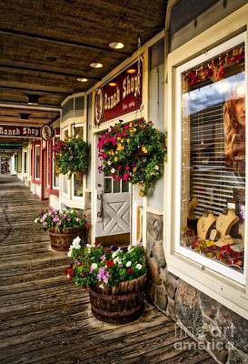 Photograph - Downtown Jackson Wyoming by Mel Steinhauer