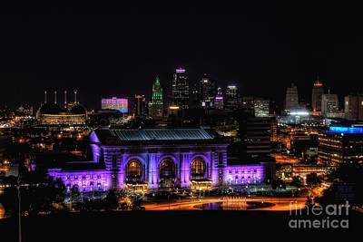 Photograph - Downtown Kansas City  by Lisa Plymell